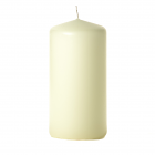 3x6 Ivory Pillar Candles Unscented