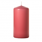 3x6 Mauve Pillar Candles Unscented