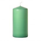 3x6 Mint Green Pillar Candles Unscented