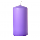 3x6 Orchid Pillar Candles Unscented