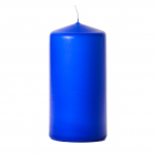 3x6 Royal Blue Pillar Candles Unscented