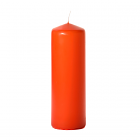 3x9 Burnt Orange Pillar Candles Unscented