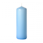 3x9 Light Blue Pillar Candles Unscented