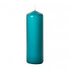 3x9 Mediterranean Blue Pillar Candles Unscented