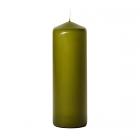 3x9 Sage Pillar Candles Unscented