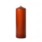 3x9 Terracotta Pillar Candles Unscented