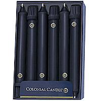 Black Taper Candle Classic 10 Inch