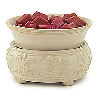 Candle Warmer and Dish Sand Stone