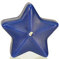 Star Floating Candles Medium Blue