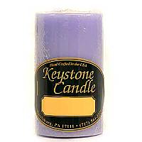 Lemon Lavender 2x3 Pillar Candles