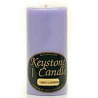 Lemon Lavender 3x6 Pillar Candles