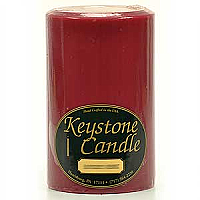 Raspberry Cream 4x6 Pillar Candles