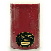 Raspberry Cream 6x9 Pillar Candles