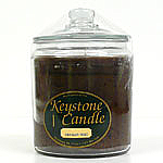 64 oz Chocolate Fudge Jar Candles
