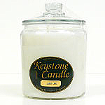 64 oz White Unscented Jar Candles