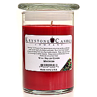 12 oz Mistletoe Soy Jar Candles