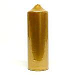 Metallic Gold Candles 3x9