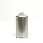 Metallic Silver Candles 3x6