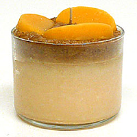 Parfait Candles Peach Scented