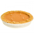Pumpkin Pie Candles 9 Inch