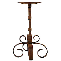 Siriana Candle Holder Iron 8 Inch