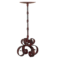 Siriana Candle Holder Iron 12 Inch