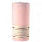 Textured 3x6 Black Raspberry Vanilla Pillar Candles