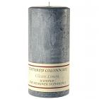 Textured 3x6 Clean Cotton Pillar Candles