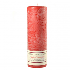 Textured 3x9 Apple Cinnamon Pillar Candles