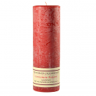 Textured 3x9 Cinnamon Balsam Pillar Candles