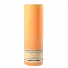 Textured 3x9 Creamsicle Pillar Candles