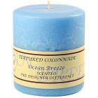 Textured 4x4 Ocean Breeze Pillar Candles