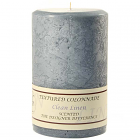 Textured 4x6 Clean Cotton Pillar Candles