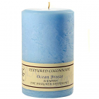 Textured 4x6 Ocean Breeze Pillar Candles