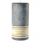 Textured 4x9 Clean Cotton Pillar Candles