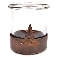 Ranch Holder and Glass Cup