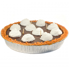 Chocolate Pudding Pie Candles 9 Inch