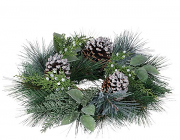 Pine Noble Fir Candle Rings 4.5 Inch