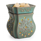 Glimmer Candle Warmer Patina