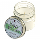 Half Pint Mason Jar Candle Clover and Aloe