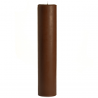 Chocolate Fudge 3x12 Pillar Candles