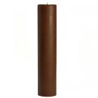 Chocolate Fudge 3x12 Pillar Candles