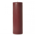 Leather Pipe and Woods 3x9 Pillar Candles