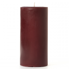 Leather Pipe and Woods 4x6 Pillar Candles