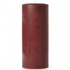 Leather Pipe and Woods 4x9 Pillar Candles