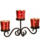 Red Votive Centerpiece Set