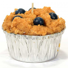 Muffin Shaped Candle Blueberry