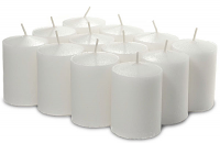 Unscented Bulk White Votives 288 Pack 15 Hour