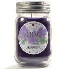 Pint Mason Jar Candle Lilac