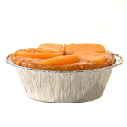 Peach Pie Candles 5 Inch